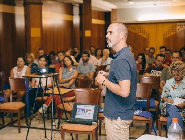 seminario de arandanos en Huelva