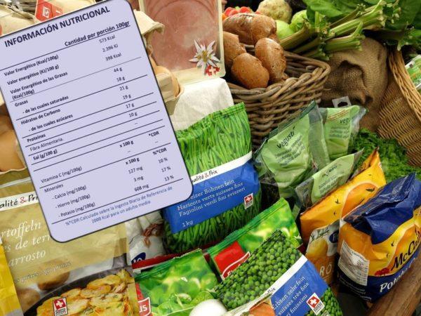 Información nutricional completa