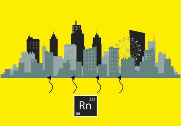 Análisis gas radón