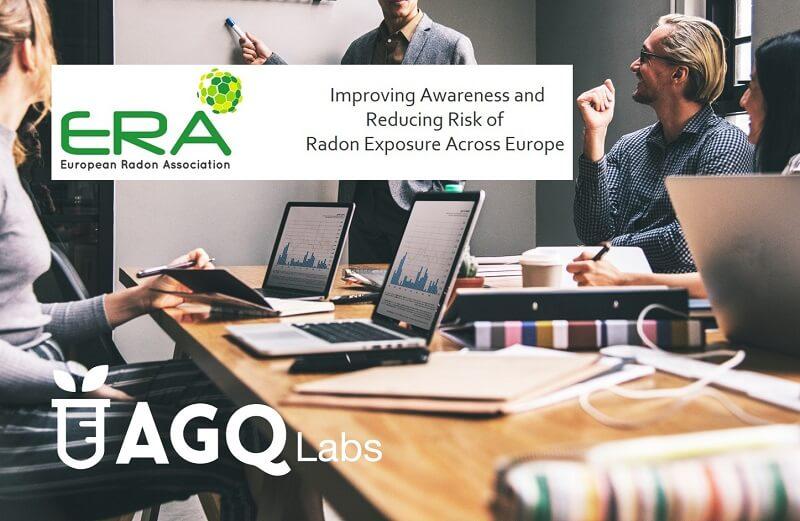 AGQ Labs socio de la Asociación Europea del Radón