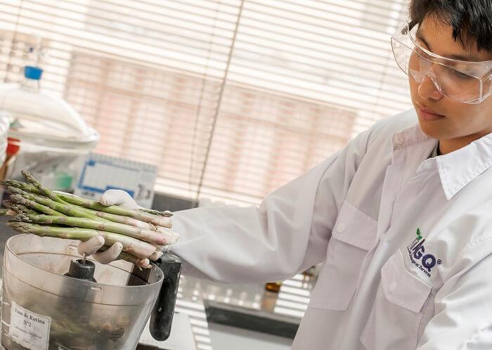 Analisis de Matrina en frutas y hortalizas