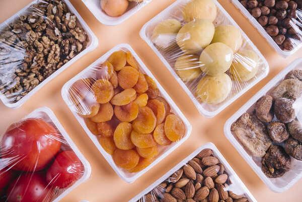Envases alimentarios foto