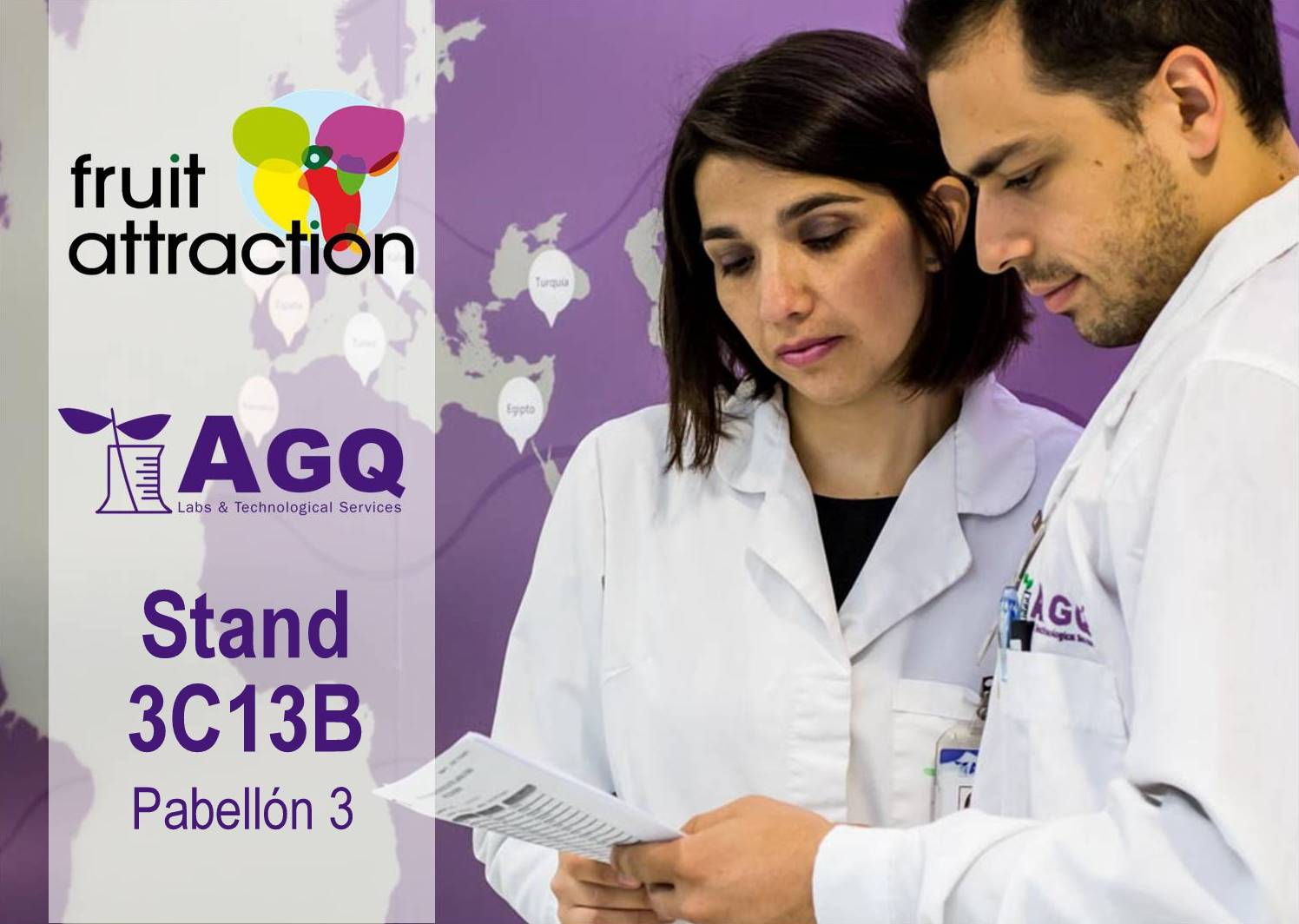 fruit attraction 2016 AGQ Labs