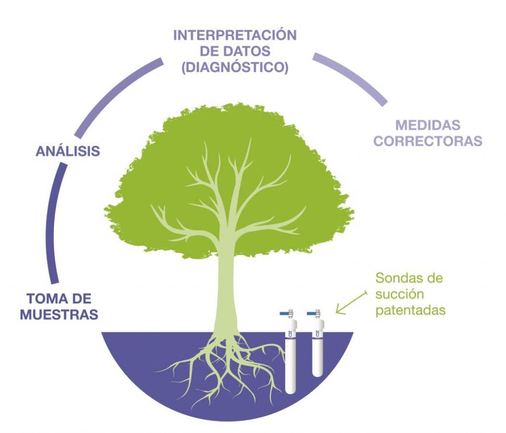 Seguimiento Nutricional de Cultivos sistema patentado