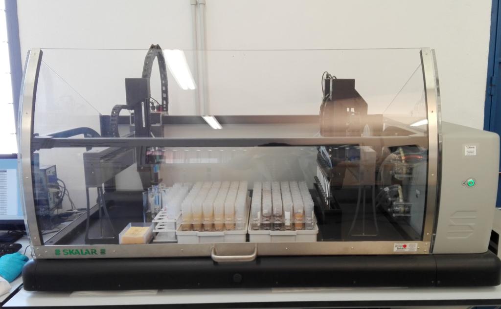 alta tecnología para análisis de fertilidad agrícola