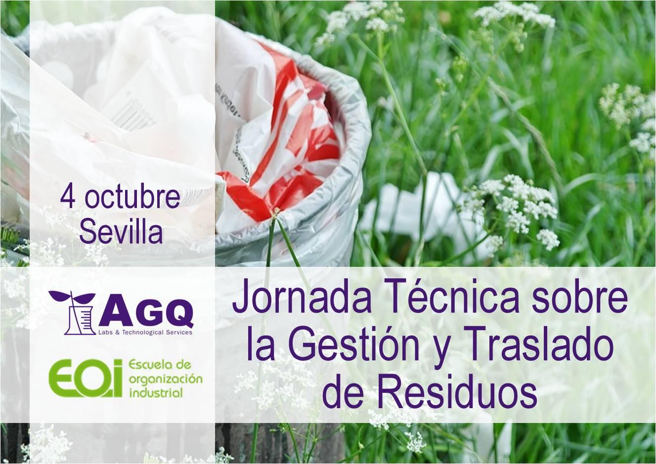 jornada técnica sobre la gestión y traslado de residuos